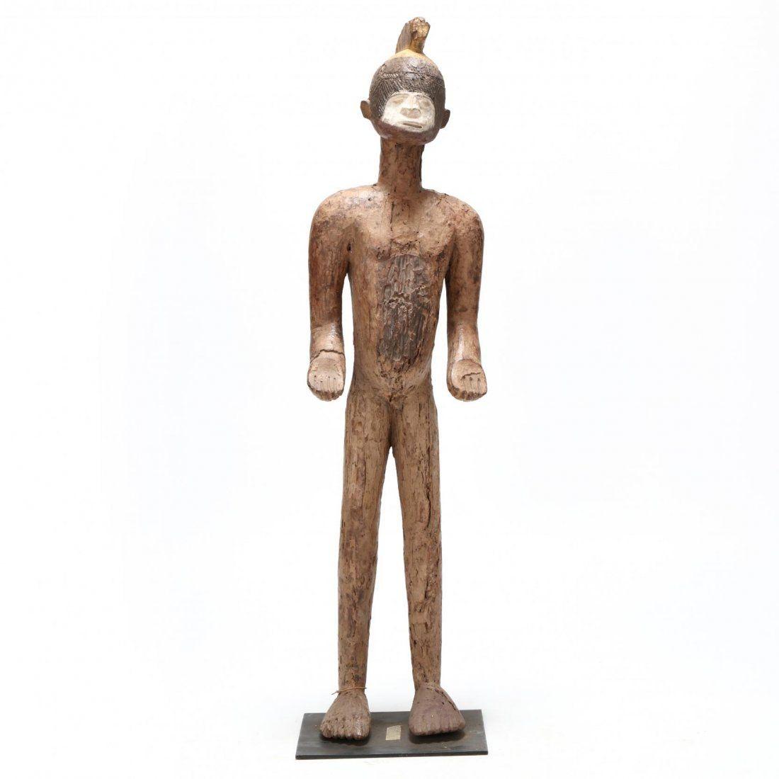 Nigeria, Ibo Standing Male Figure