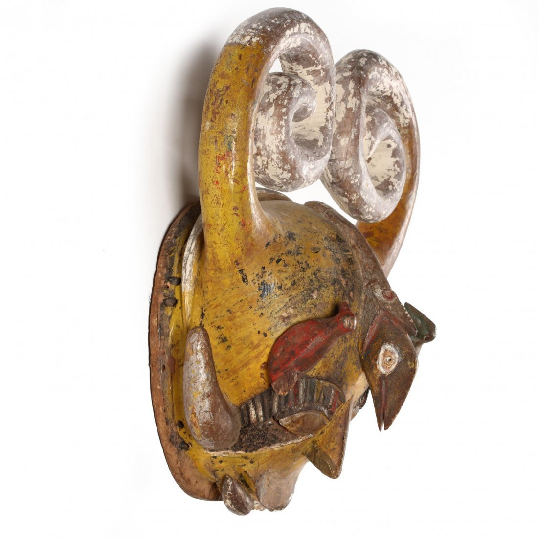 Nigeria, Fanciful Horned Mask - 2