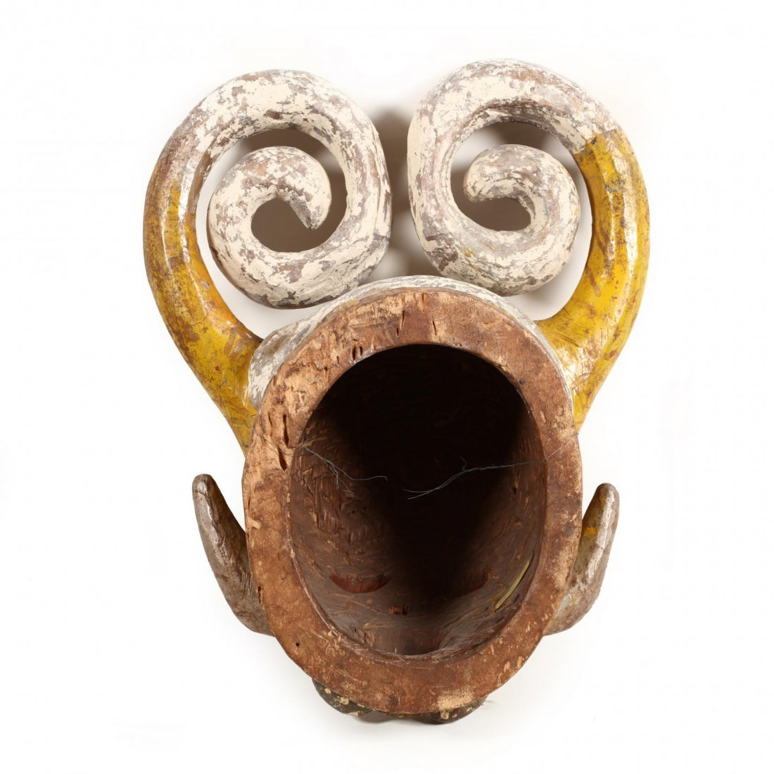 Nigeria, Fanciful Horned Mask - 3