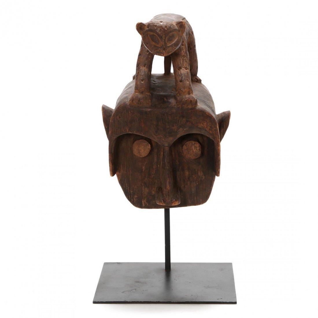 Cameroon, Figural Bamileke Mask