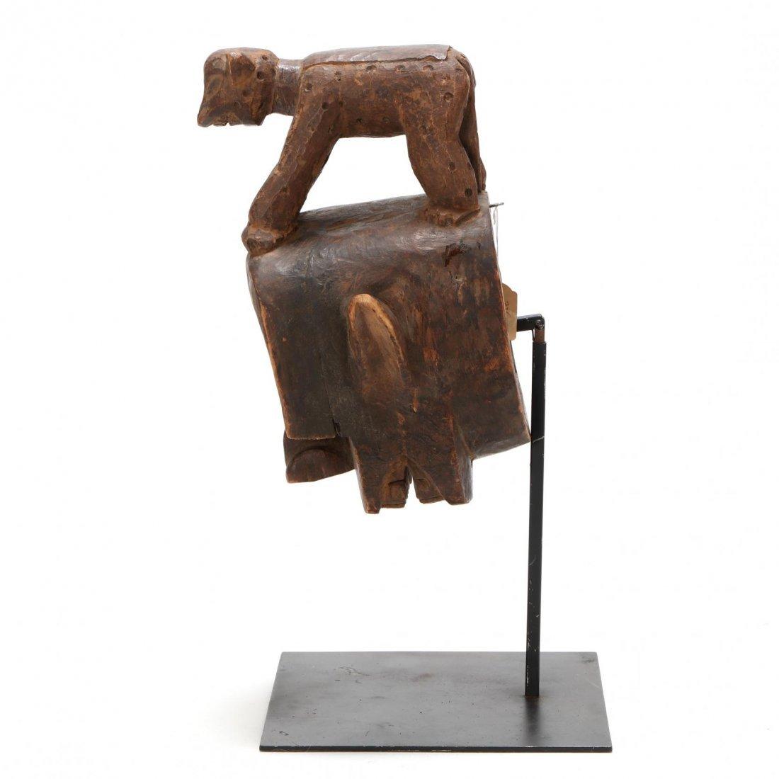 Cameroon, Figural Bamileke Mask - 4