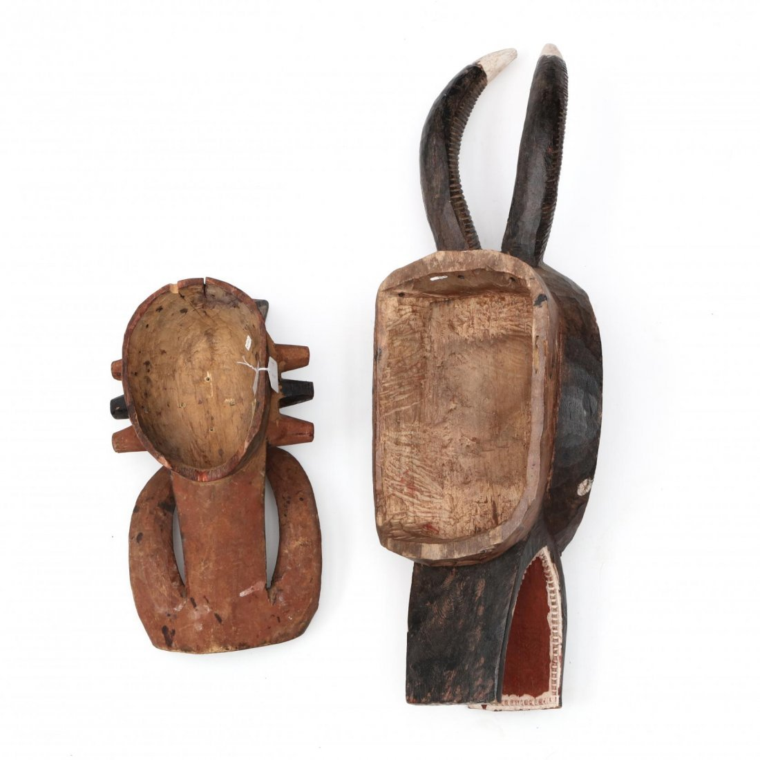 Two West African Mask Headresses - 4