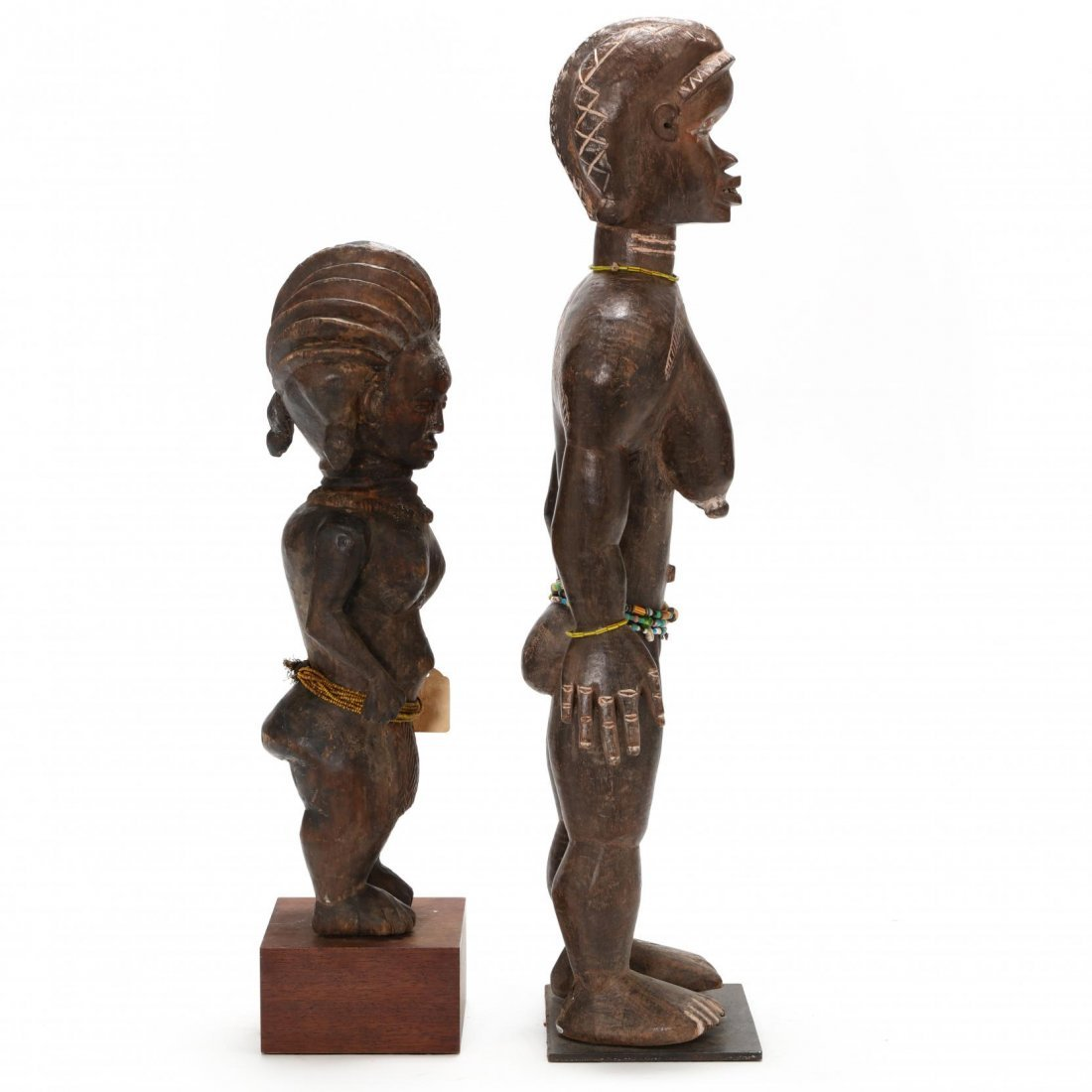 Two West African Standing Female Figures - 2