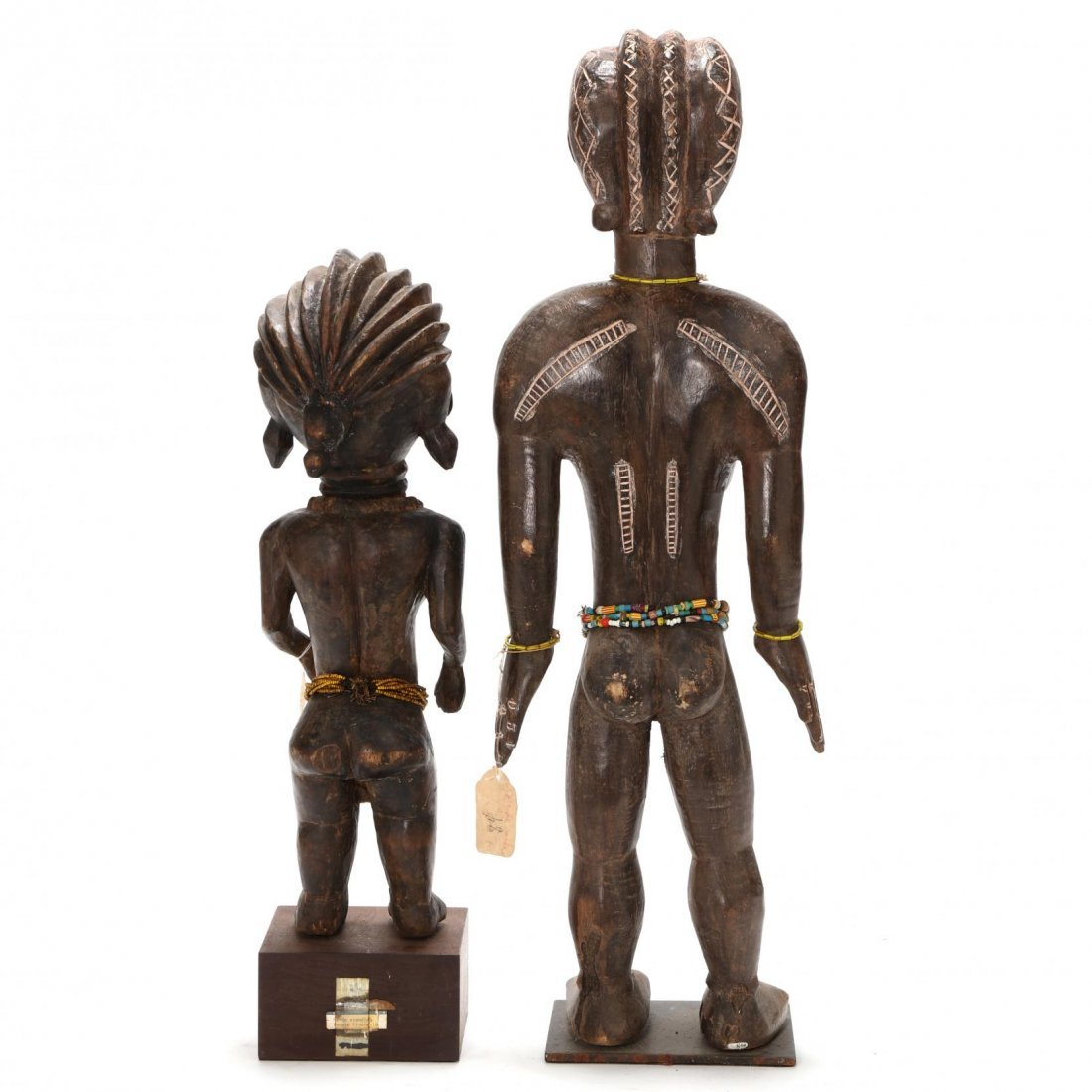 Two West African Standing Female Figures - 3