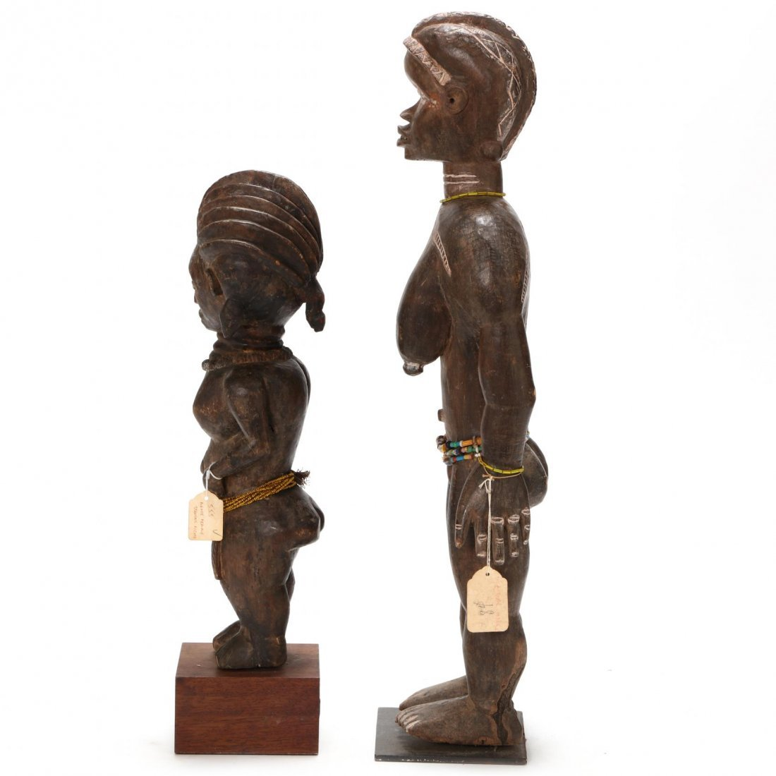 Two West African Standing Female Figures - 4