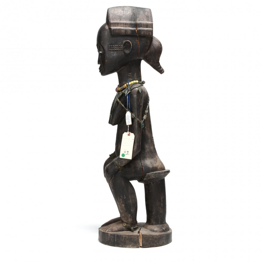 West African Seated Female Figure - 2
