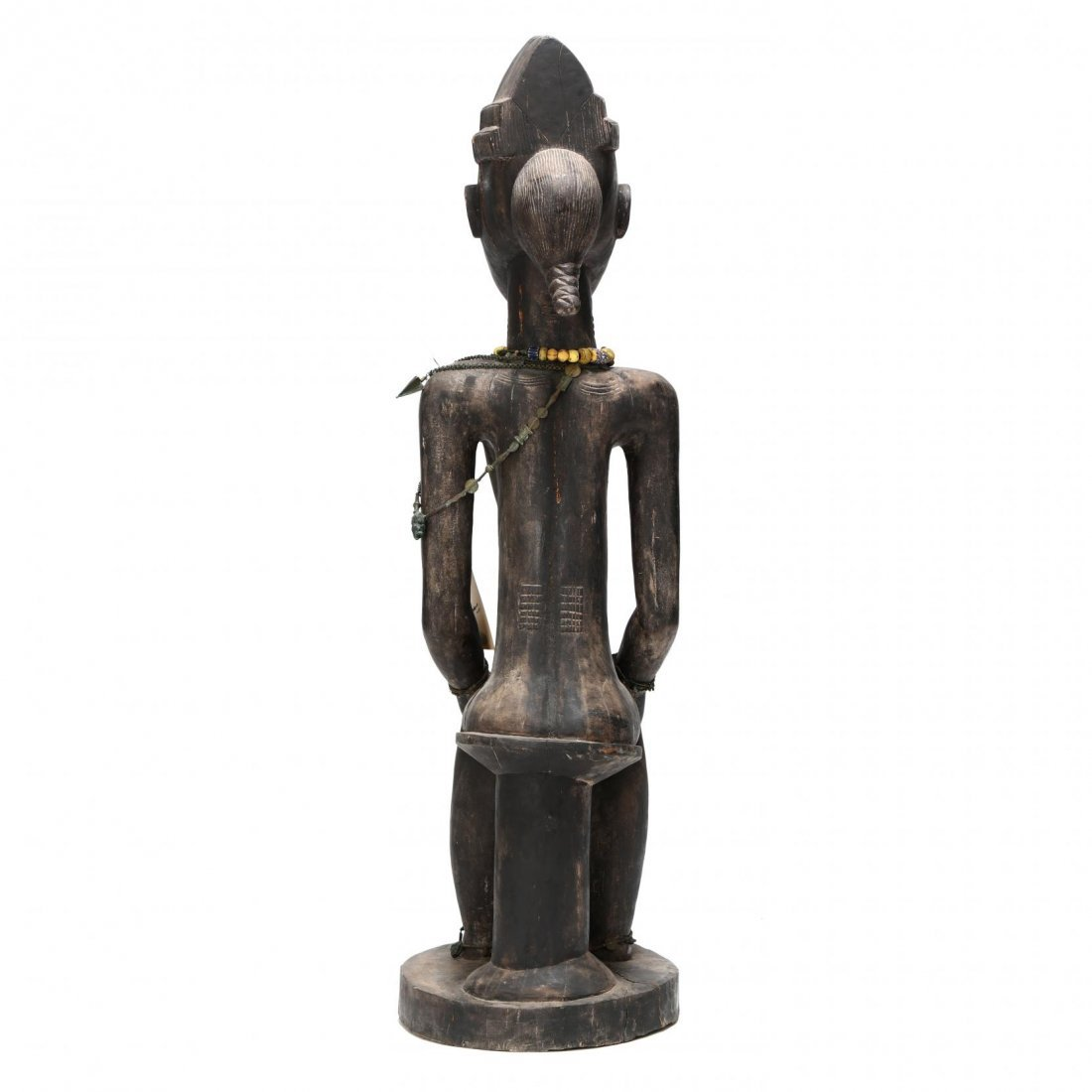 West African Seated Female Figure - 3