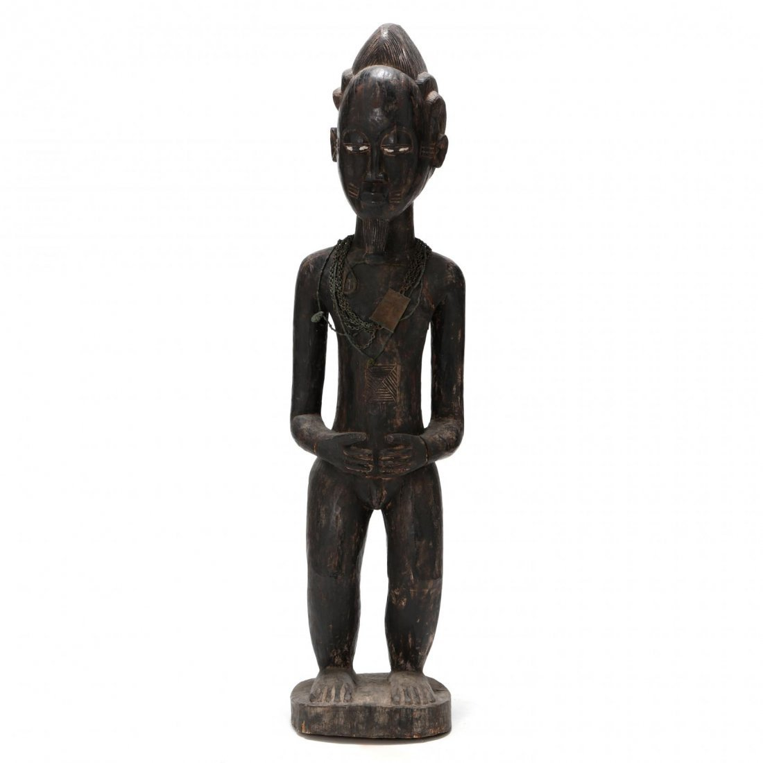 Carved Wooden Standing Male Figure