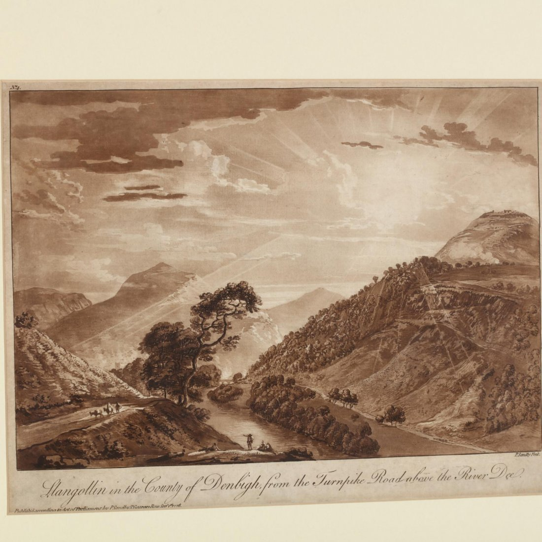 Two British Vistas - Lucas after Constable and Sandby - 3