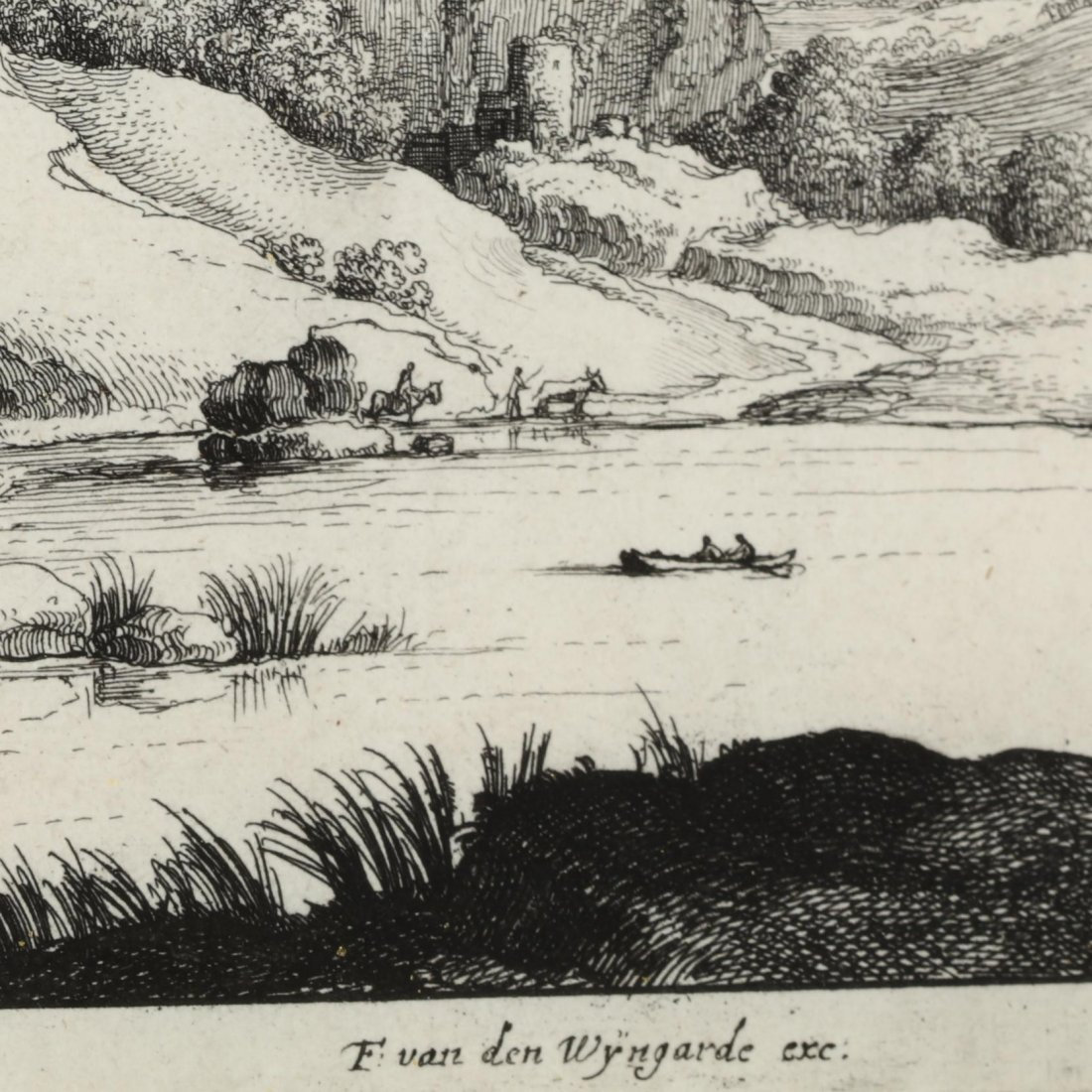 Pair of Continental Landscapes Picturing Cattle and - 4