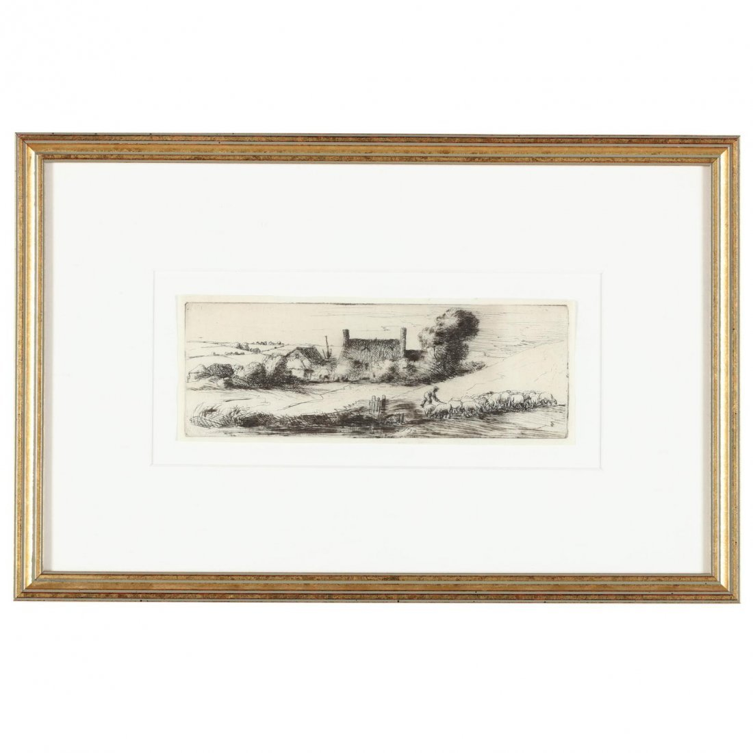 Group of (4) 19th-Century English Etchings - 2
