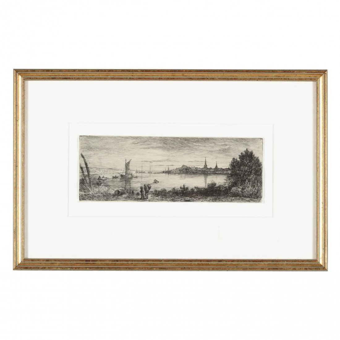 Group of (4) 19th-Century English Etchings - 3