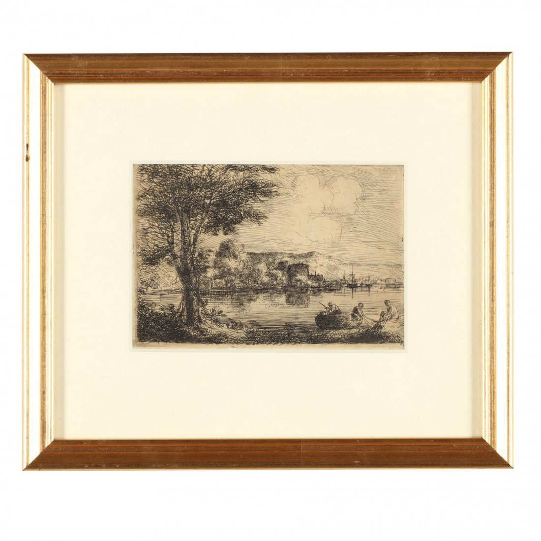 Group of (4) 19th-Century English Etchings - 4