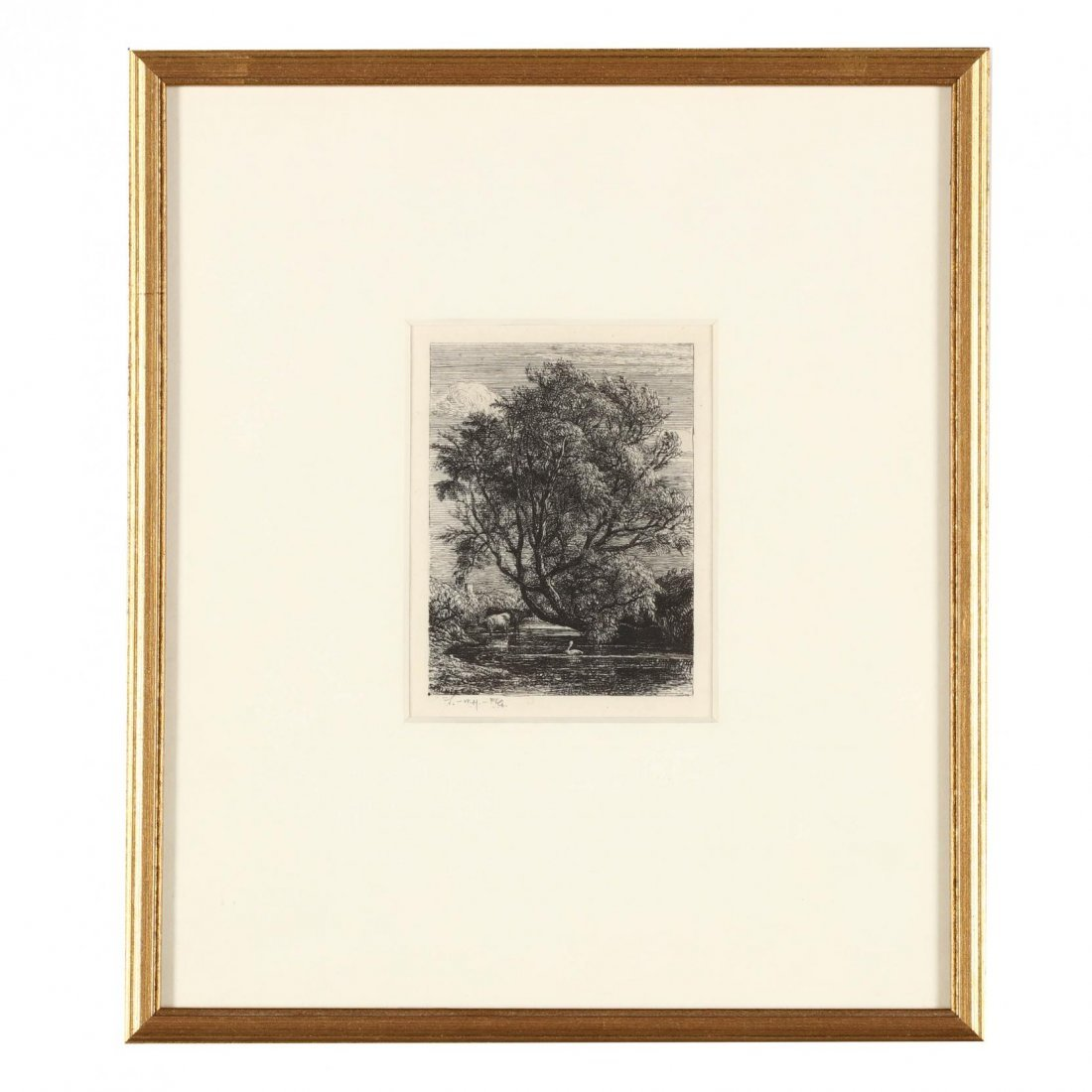 Group of (4) 19th-Century English Etchings - 5