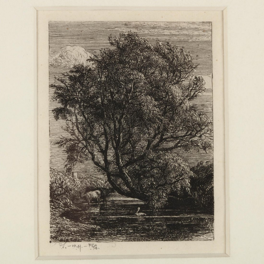 Group of (4) 19th-Century English Etchings - 6