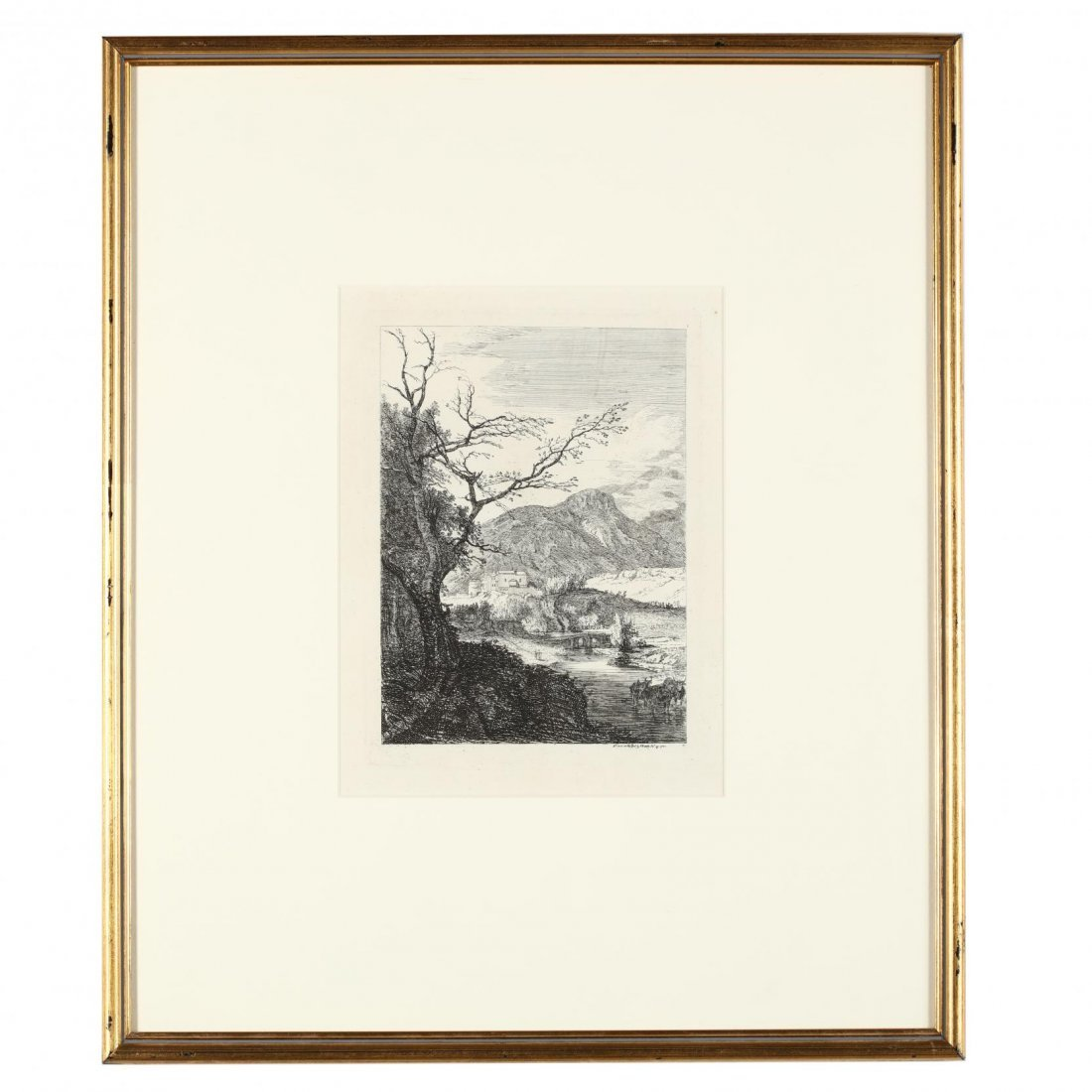 Group of (4) French and English Landscapes - 2