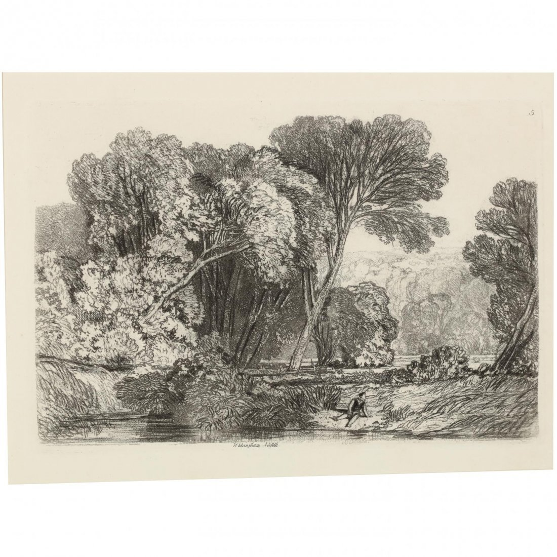 Group of (4) French and English Landscapes - 6