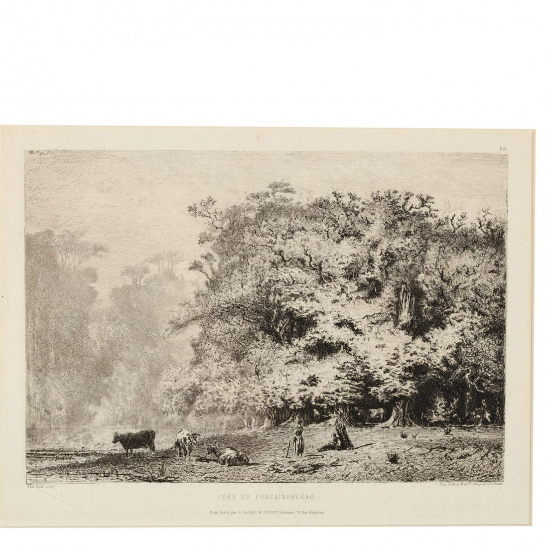 Group of (4) French and English Landscapes - 8