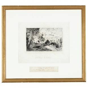 John Constable (British, 1776-1837), An Old Bridge at