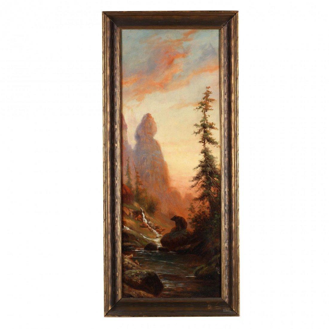 Edward Hill (American, 1843-1923), Western Landscape