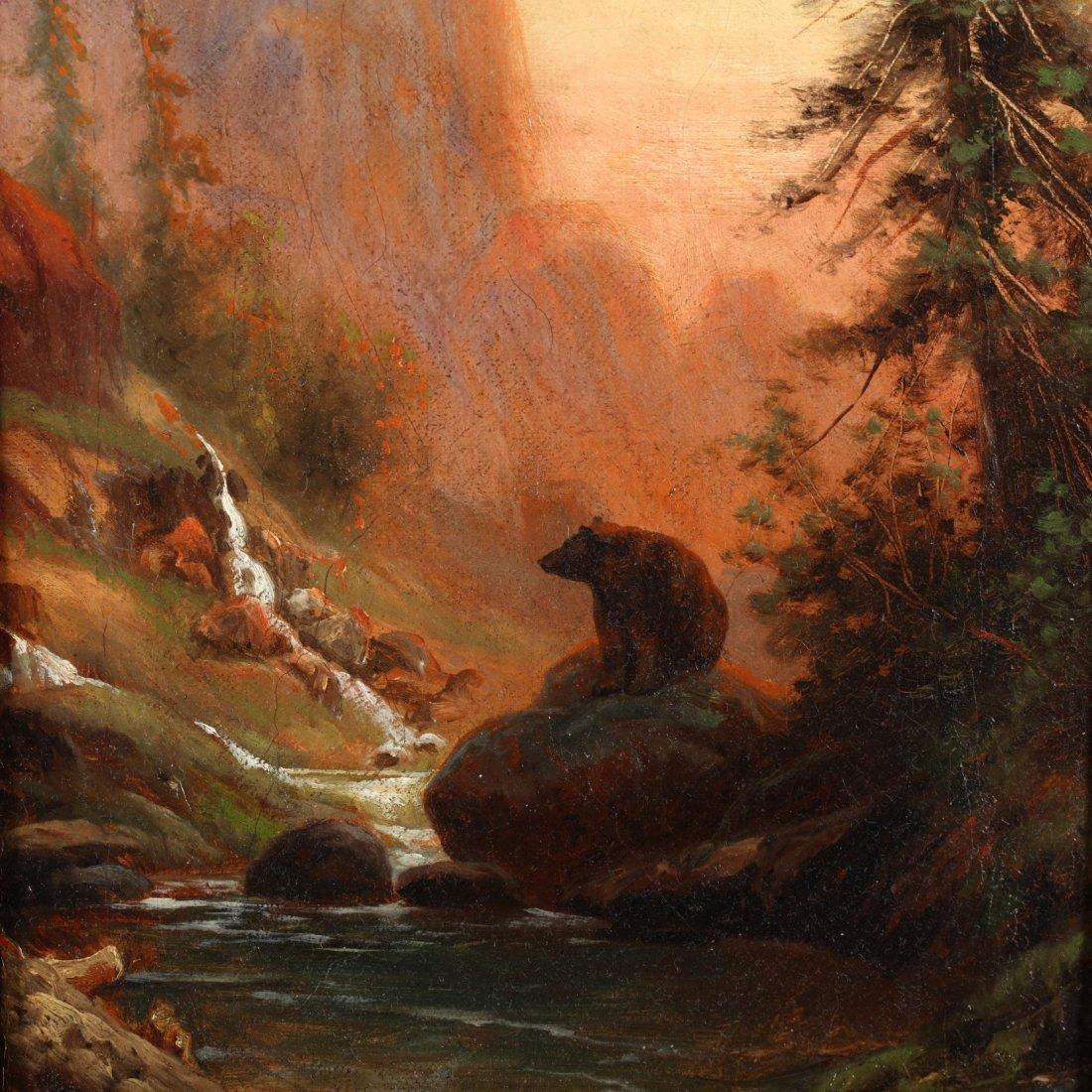 Edward Hill (American, 1843-1923), Western Landscape - 2