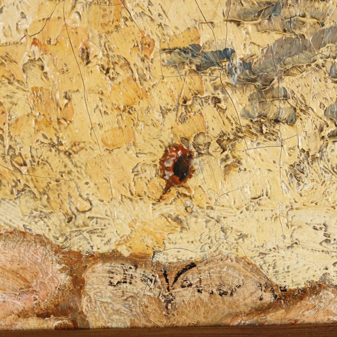 Elihu Vedder (NY/Italy, 1836-1923), Italian Coast - 2
