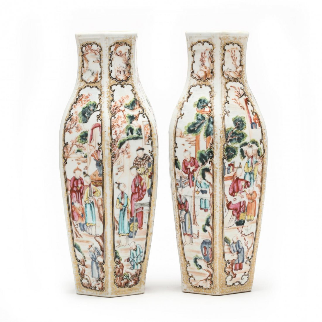 Pair of Chinese Export Vases - 2