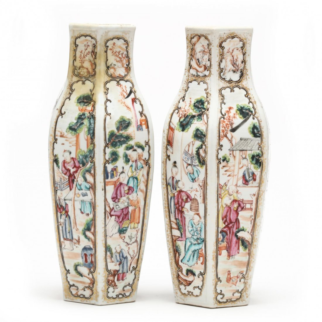 Pair of Chinese Export Vases - 3
