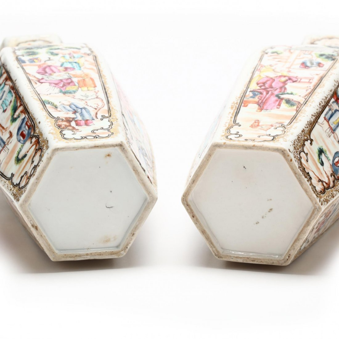 Pair of Chinese Export Vases - 5