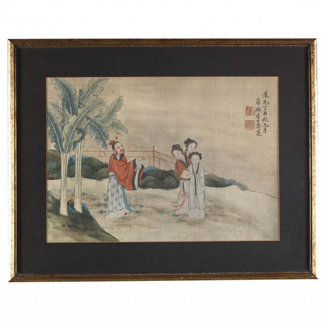 Two Paintings by Jiang Lian (Chinese, 18th-19th - 5