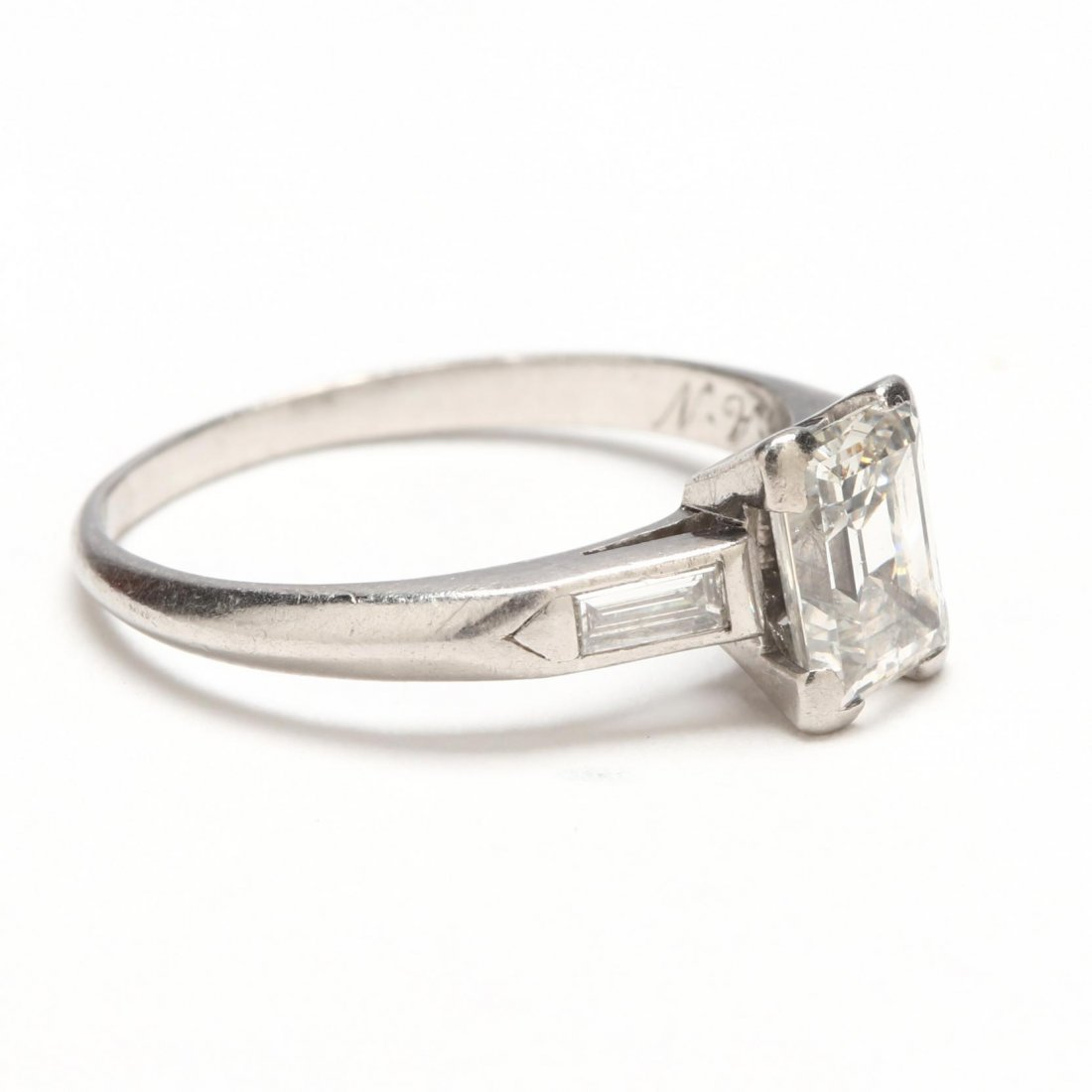 Platinum and Diamond Ring - 2