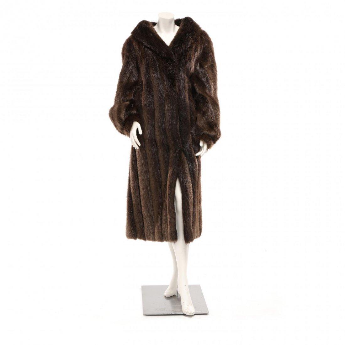 Vintage Full Length Raccoon Coat
