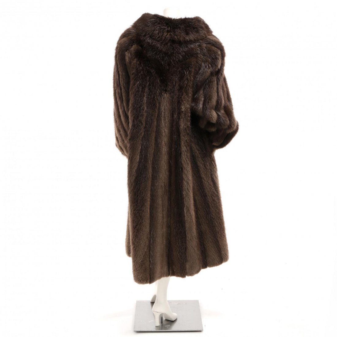 Vintage Full Length Raccoon Coat - 2