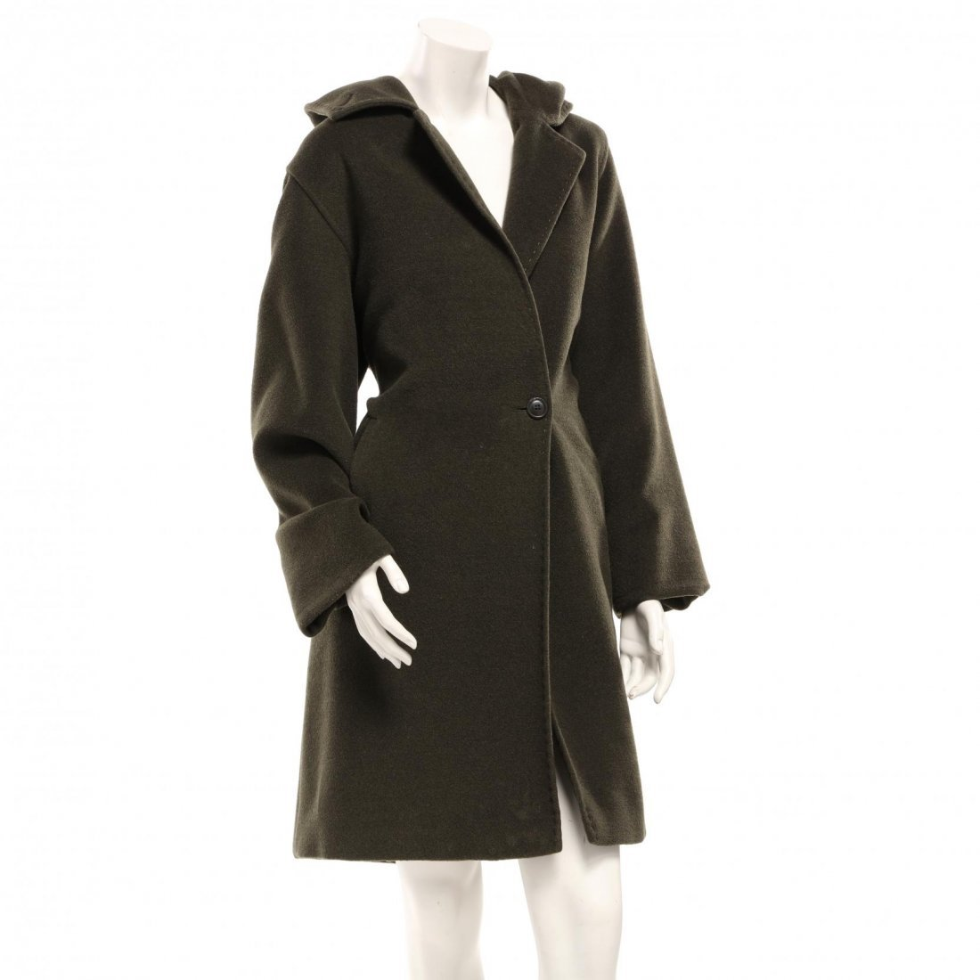 Double Face Hooded Coat, Max Mara