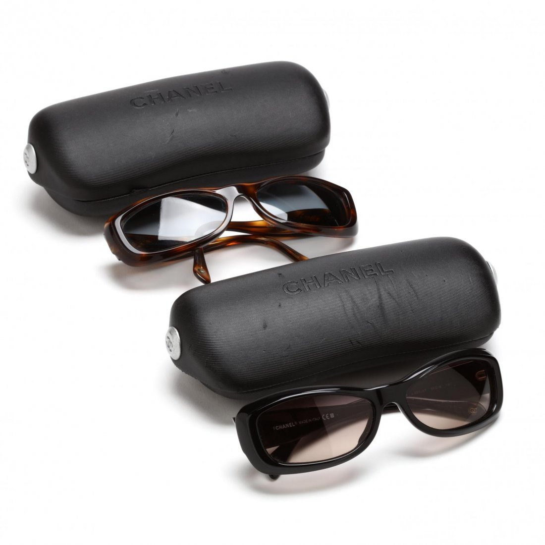 Two Pair of Logo Sunglasses, Chanel - 6