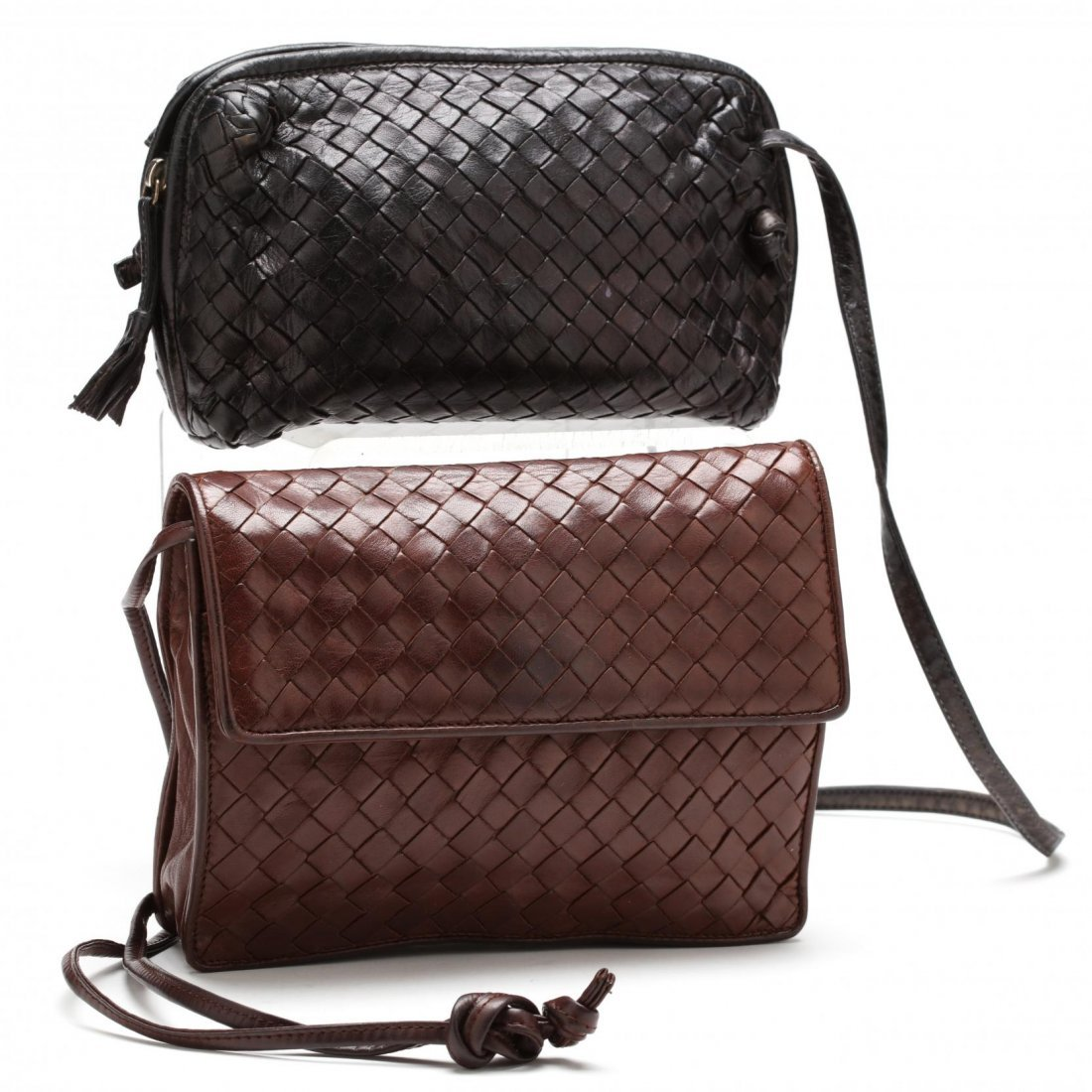 Two Cross-body Bags, Bottega Veneta