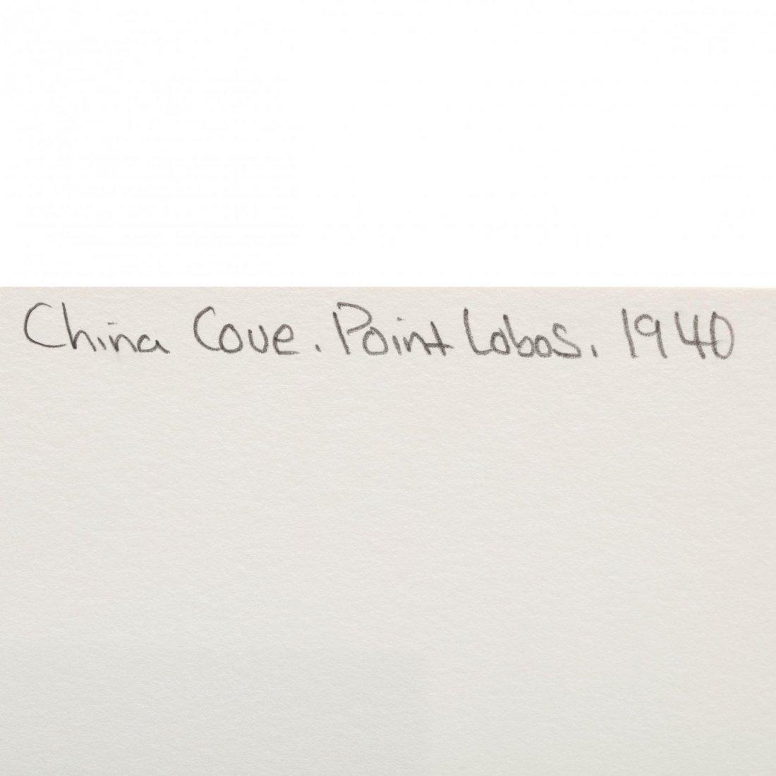 Edward Weston (American, 1886-1958),  China Cove, Point - 4