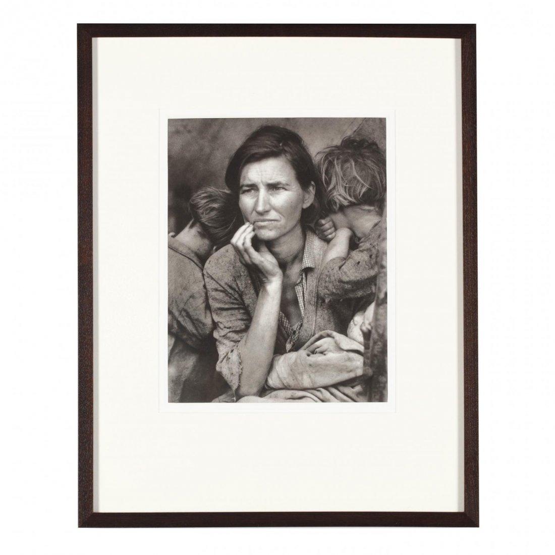 Dorothea Lange (1895-1965),  Migrant Mother, Nipomo,