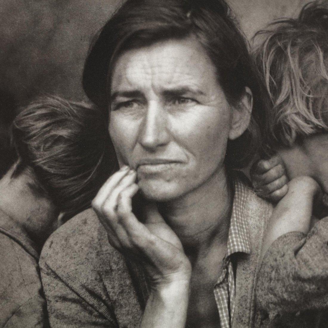 Dorothea Lange (1895-1965),  Migrant Mother, Nipomo, - 2