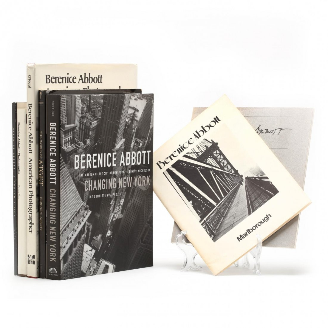 Seven Titles on Berenice Abbott