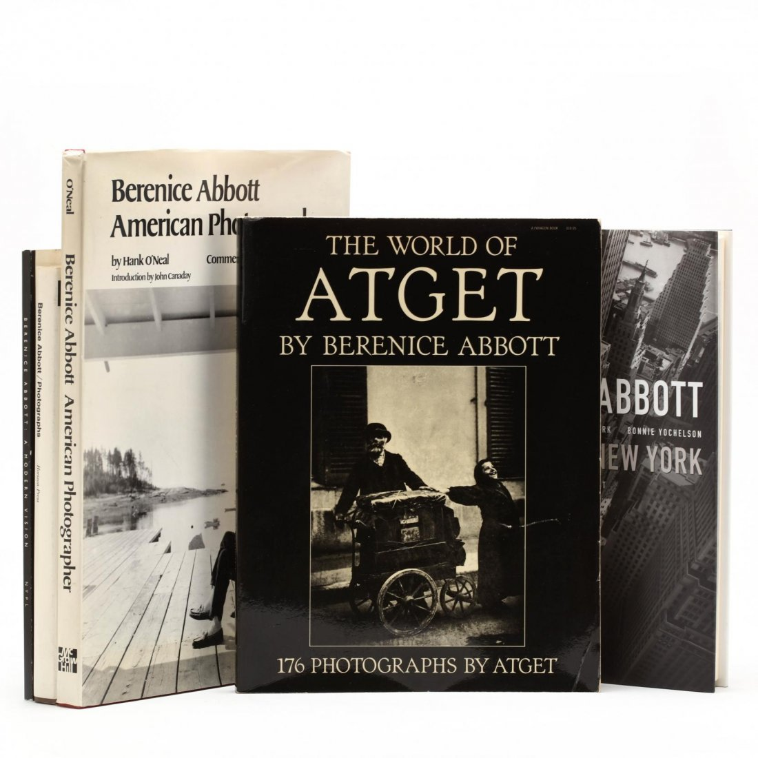 Seven Titles on Berenice Abbott - 3