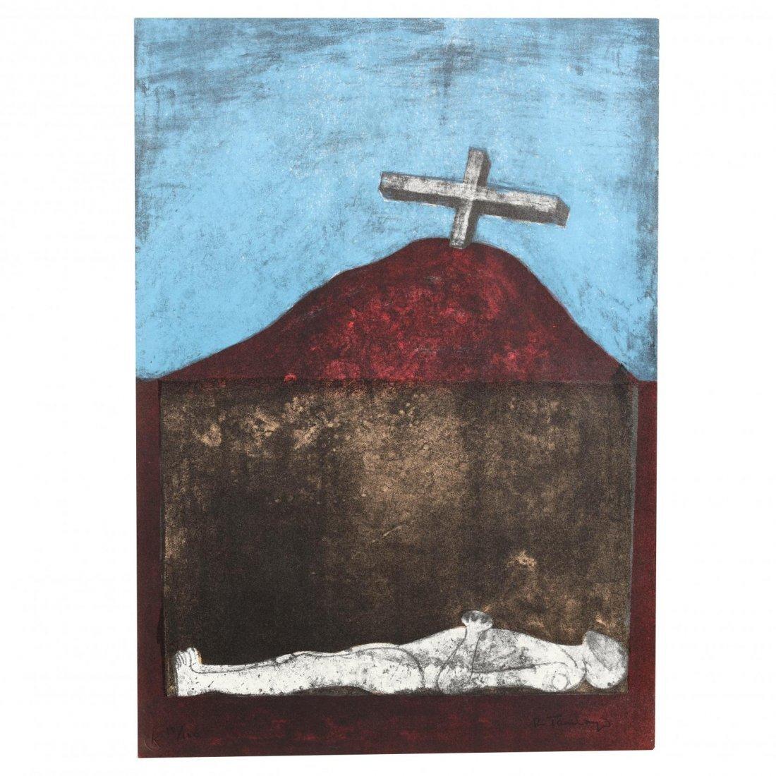 Rufino Tamayo (Mexican, 1899-1991),  Los Signos Existen - 2