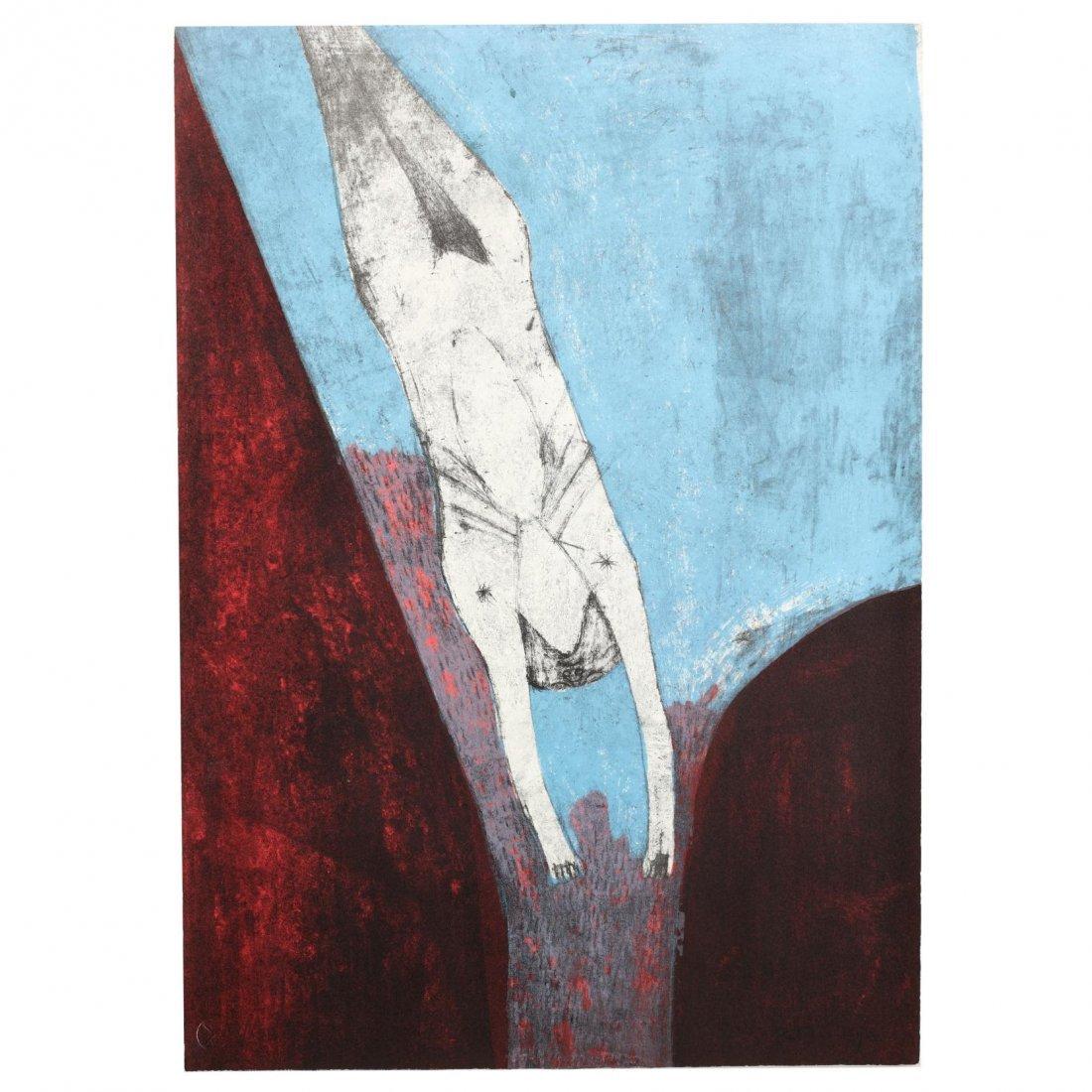 Rufino Tamayo (Mexican, 1899-1991),  Los Signos Existen - 5