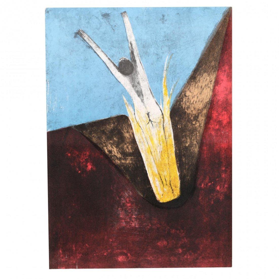 Rufino Tamayo (Mexican, 1899-1991),  Los Signos Existen - 8