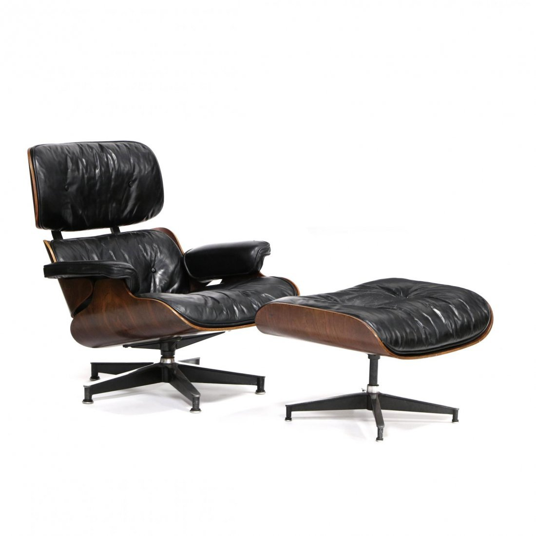 Charles Eames, 670/671 Vintage Lounge Chair and Ottoman