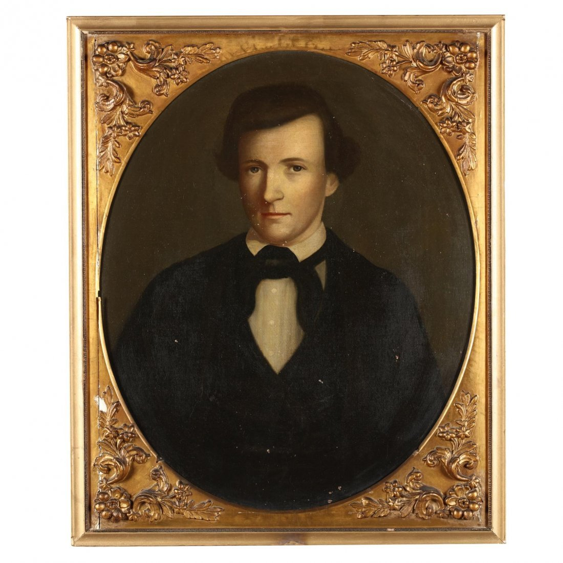 American School Portrait of Mexican War Casualty Henry