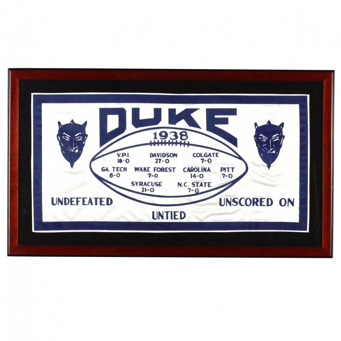 Duke University 1938 Football Southern Conference