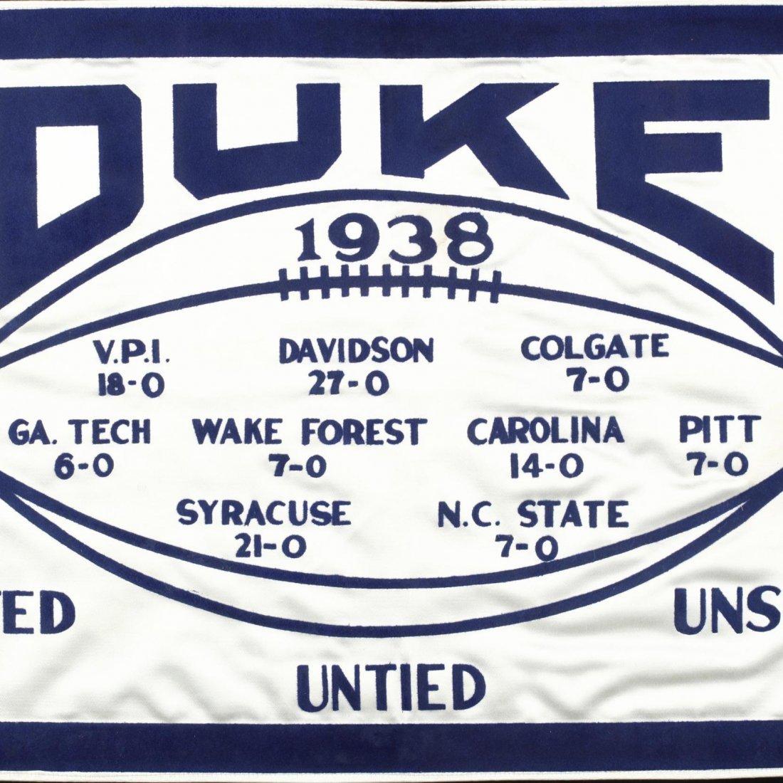 Duke University 1938 Football Southern Conference - 2