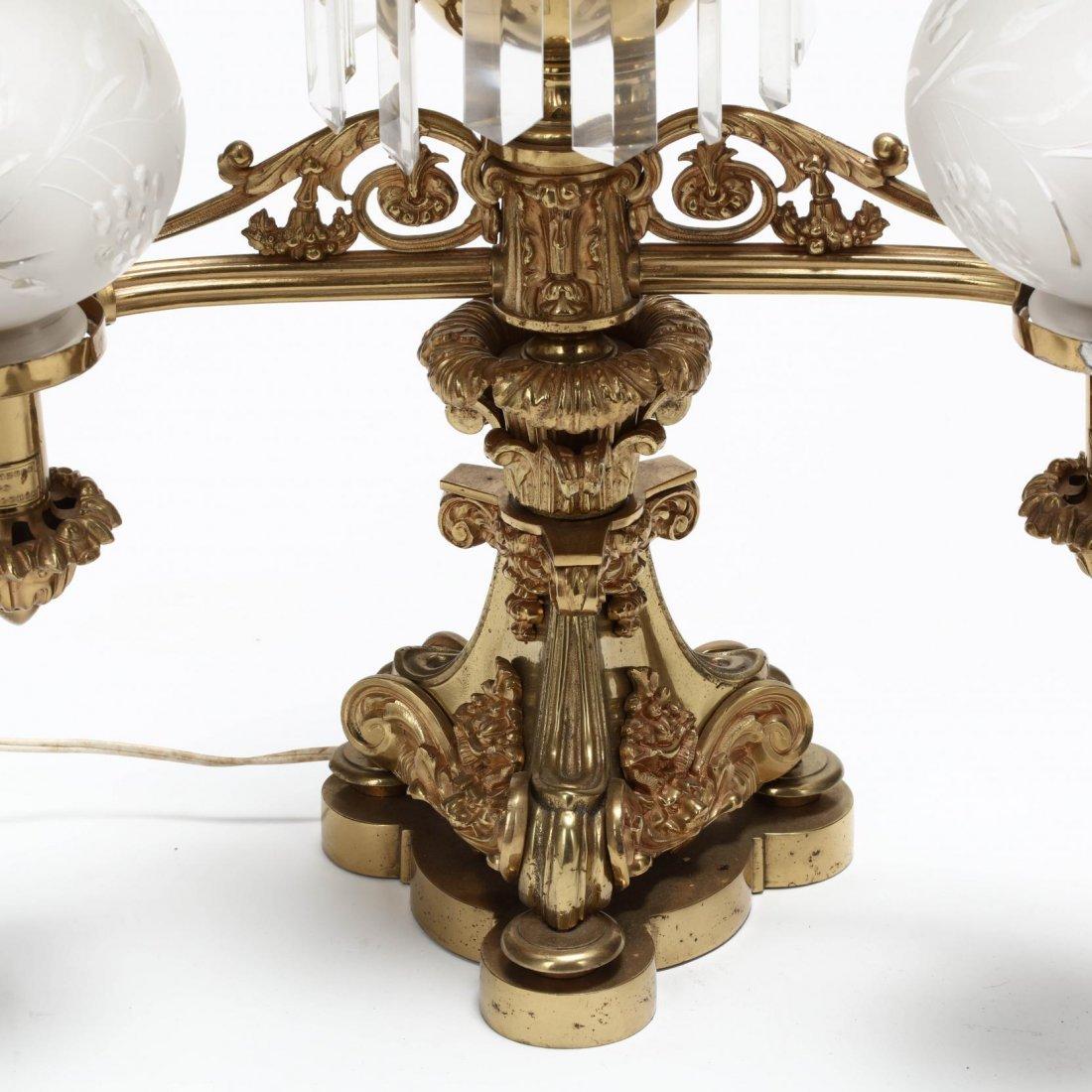 Lewis Veron & Co., Pair of Argand Lamps - 2
