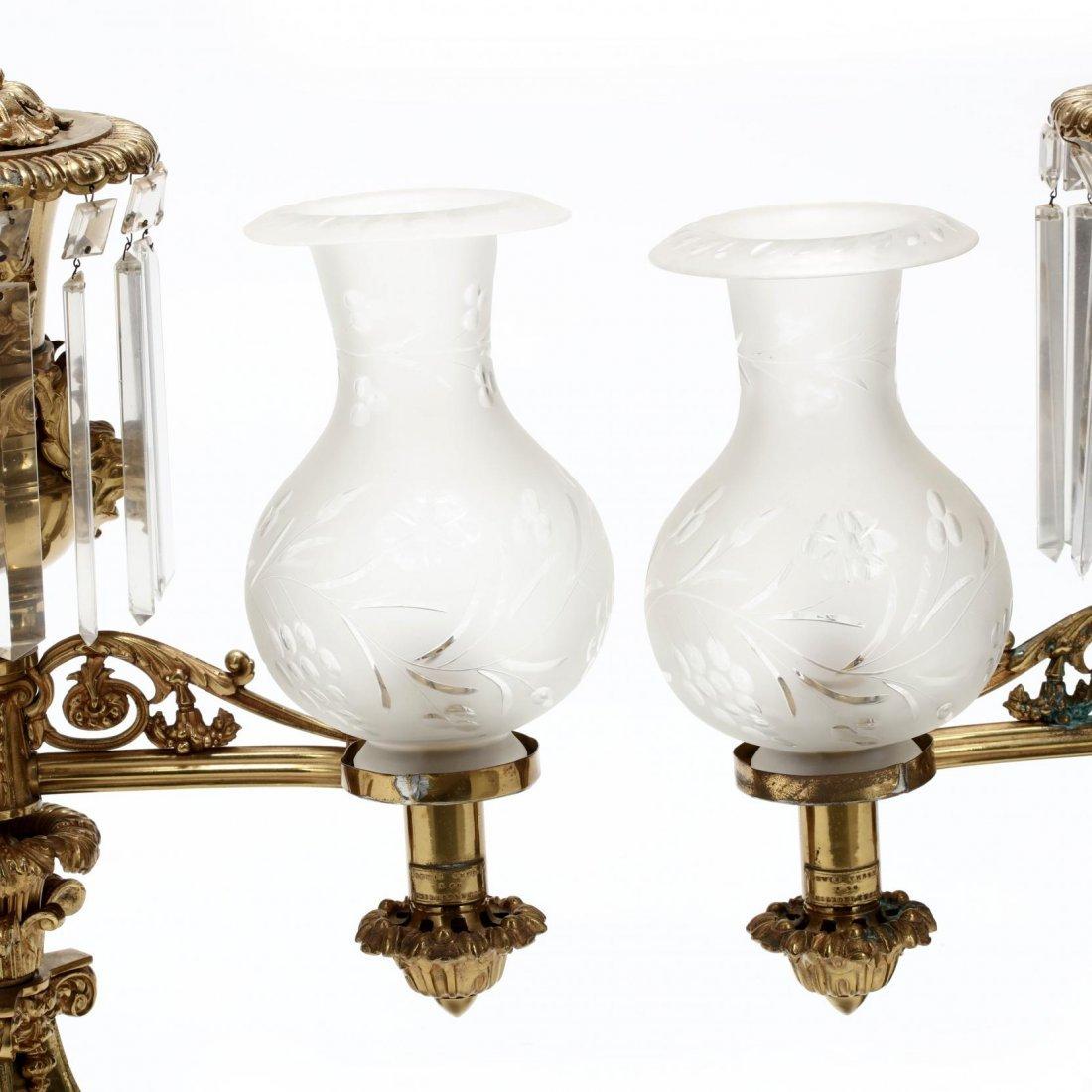 Lewis Veron & Co., Pair of Argand Lamps - 3